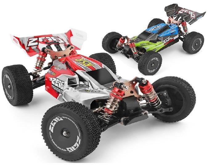 Wltoys 144001 RC Car,Wltoys 1/14 RC Racing Car 1/14 4WD Alloy 60km/h High Speed RC Buggy Electric RC Car Wltoys-Car-All