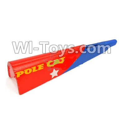 Wltoys F939 Tail Upper foam cover,Tail cover,Wltoys F939 Plane Parts