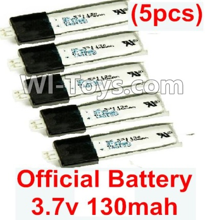 Wltoys F939 Official 3.7v 130mah Lipo Battery(5pcs),Wltoys F939 Plane Parts