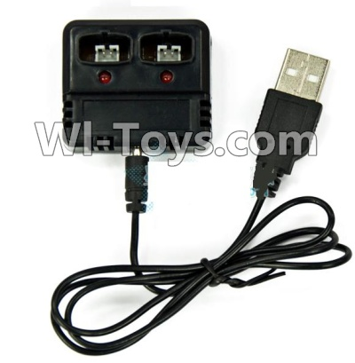 Wltoys F939 Charger Parts-Official and balance charger,Can charge two battery at the same,Wltoys F939 Plane Parts