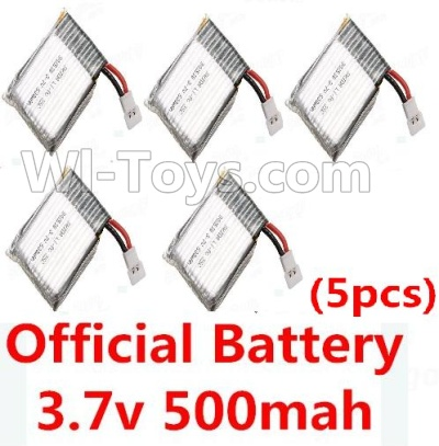 Wltoys F949 Official 3.7V 500mAh 20C Battery(5pcs) Parts,Wltoys F949 Plane Parts