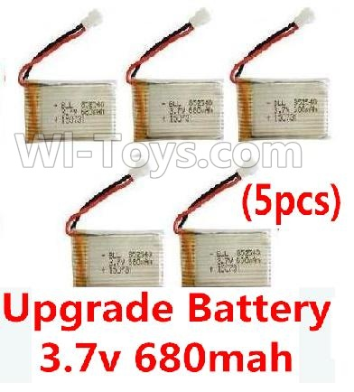 Wltoys F949 Upgrade 3.7v 680mah battery-Fly more time,more power(5pcs) Parts,Wltoys F949 Plane Parts