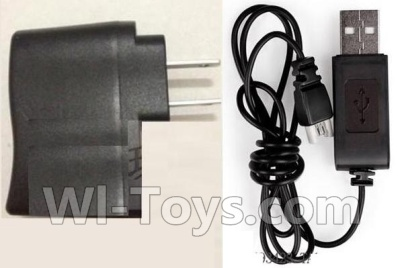 Wltoys F949 USB-TO-Socket conversion plug & USB Charger Parts,Wltoys F949 Plane Parts