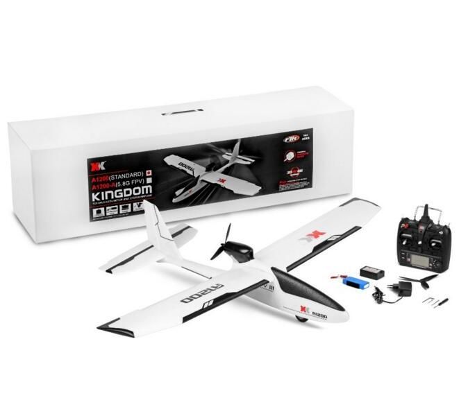 XK A1200 AirPlane Drone,XK A1200 3D 6G 5.8G FPV 2.4G 6CH S-FHSS EPO RC Airplane Glider RTF Mode 2
