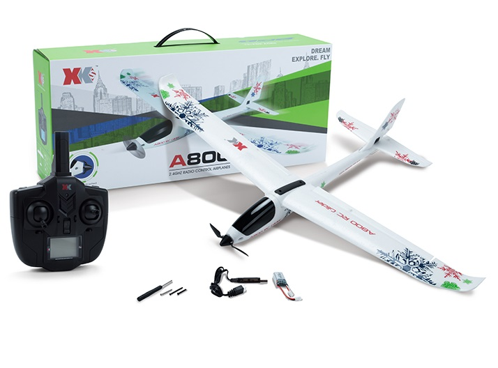 XK A800 RC AirPlane XK A800 Drone 4CH 3D 6G SYSTEM BRUSHLESS RC FTR AIRPLANE