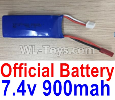 Wltoys F500 Battery Parts-7.4V 900mah Battery Parts(1pcs)-X520.0013,Wltoys F500 Parts