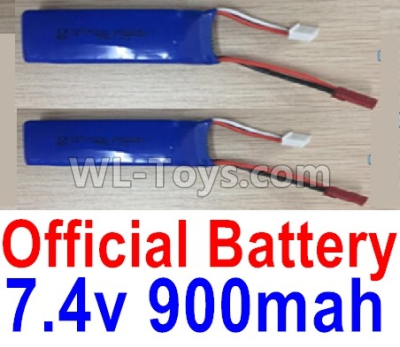 Wltoys F500 Battery Parts-7.4V 900mah Battery Parts(2pcs)-X520.0013,Wltoys F500 Parts