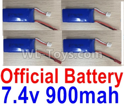 Wltoys F500 Battery Parts-7.4V 900mah Battery Parts(4pcs)-X520.0013,Wltoys F500 Parts