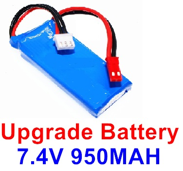 Wltoys F500 Upgrade 7.4V 1000mah Battery Parts(1pcs)-Size-59X29.5X14mm-X520.0013,Wltoys F500 Parts