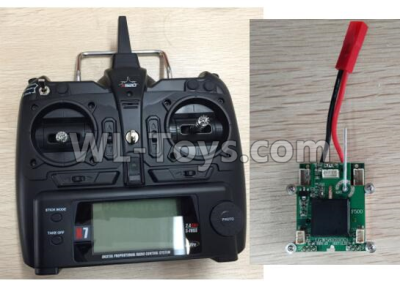 Wltoys F500 X8 Big Version Transmitter and Circuit board Together-X520.0014,Wltoys F500 Parts