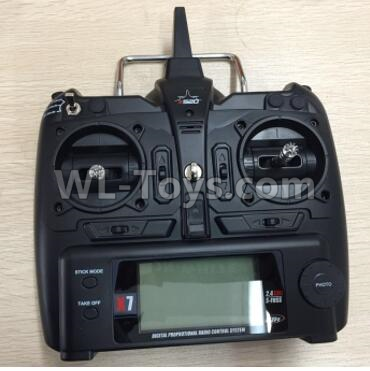 Wltoys F500 X8 Big version Transmitter-X520.0014,Wltoys F500 Parts
