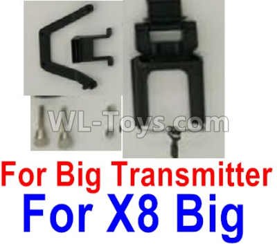 Wltoys F500 X300 Mobile phone bracket accessories(For X8 Big Version Transmitter)-X520.0018,Wltoys F500 Parts