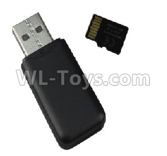 Wltoys F500 USB Reader and 4GB Memory card-X520.0020,Wltoys F500 Parts