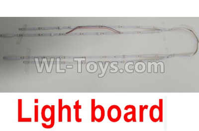 Wltoys F500 LED Light board-X520.0021,Wltoys F500 Parts