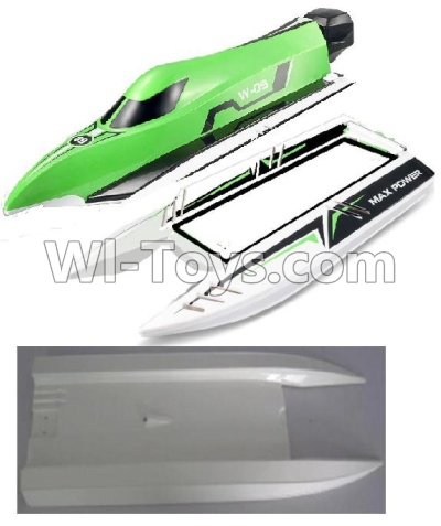 Wltoys WL915 Parts-The Upper body shell cover-Green & The Middle and Bottom body shell cover,Wltoys WL915 Boat Parts