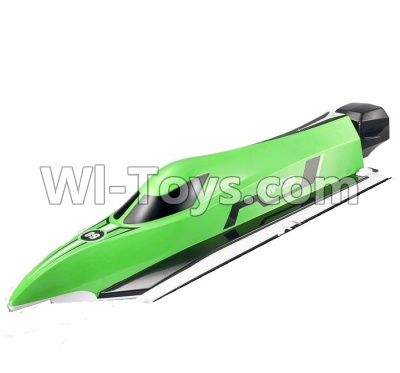 Wltoys WL915 Parts-Upper main body shell cover-Green,Wltoys WL915 Boat Parts