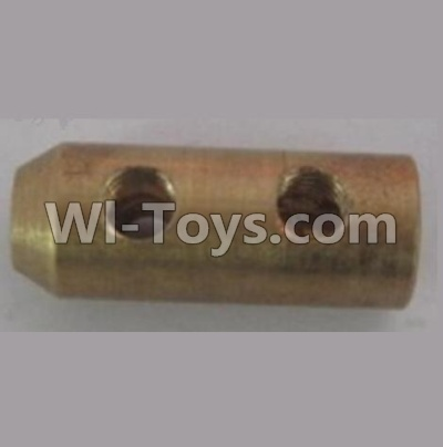 Wltoys WL915 Parts-Flexible shaft coupling(φ8Xφ3X20mm)-3 holes M4 teeth,Wltoys WL915 Boat Parts