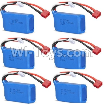 Wltoys WL915 Battery Parts-11.1v 1200mah Battery(6pcs),Wltoys WL915 Boat Parts