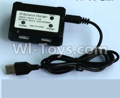 Wltoys WL915 Parts-Upgrade USB And Balance charger-Can charge two battery at the same time,Wltoys WL915 Boat Parts