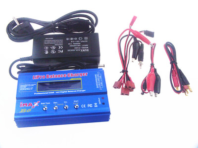 Wltoys WL915 Parts-Upgrade B6 Balance charger and Power Charger unit(Can charger 2S 7.4v or 3S 11.1V Battery),Wltoys WL915 Boat Parts