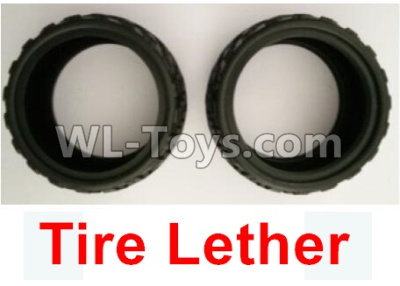 Wltoys 10402 Tire Lether(2pcs-Not include the Wheel hub)-10402.0849,Wltoys 10402 Parts