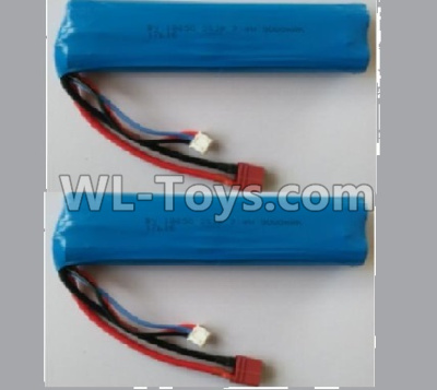 Wltoys 10402 battery-7.4V 3000MAH 15C Battery(2pcs)-136x37x19mm-10402.0884,Wltoys 10402 Parts