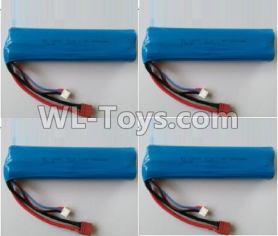 Wltoys 10402 battery-7.4V 3000MAH 15C Battery(4pcs)-136x37x19mm-10402.0884,Wltoys 10402 Parts