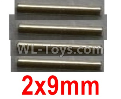 Wltoys 10402 Optical axis-2X9mm(4pcs)-12401.0299,Wltoys 10402 Parts