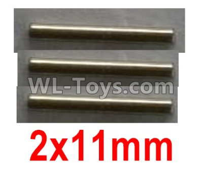 Wltoys 10402 Optical axis-2X11mm(3pcs)-10428-2.0332,Wltoys 10402 Parts