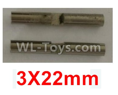 Wltoys 10402 Planetary gear shaft(2pcs)-3X22mm-K949-52,Wltoys 10402 Parts