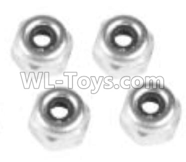 Wltoys 10402 M4 locknut(4pcs)-L959-65,Wltoys 10402 Parts