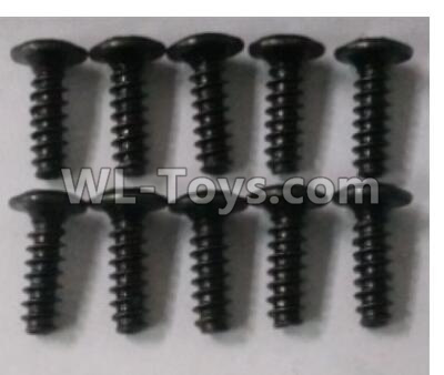 Wltoys 10402 Round head cross with self-tapping screws Parts(10pcs)-3X10PWB-W6-10402.0871,Wltoys 10402 Parts