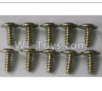 Wltoys 10402 Round head cross with self-tapping screws Parts(10pcs)-ST3x8PWB-W8-10402.0873,Wltoys 10402 Parts