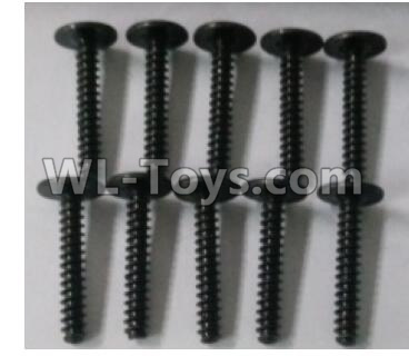 Wltoys 10402 Round head cross with self-tapping screws Parts(10pcs)-ST3x18PWB-W8-10402.0874,Wltoys 10402 Parts
