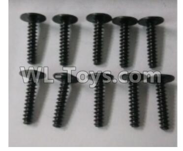 Wltoys 10402 Round head cross with self-tapping screws Parts(10pcs)-ST3x14PWB-W8-10402.0876,Wltoys 10402 Parts