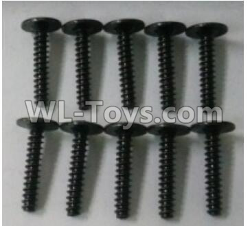 Wltoys 10402 Round head cross with self-tapping screws Parts(10pcs)-ST3x16PWB-W8-10402.0877,Wltoys 10402 Parts