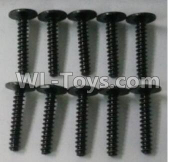 Wltoys 10402 10402.0879 Round head cross with self-tapping screws Parts(10pcs)-ST2.6x16PWB-W6,Wltoys 10402 Parts