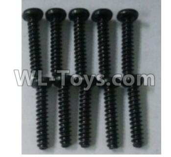 Wltoys 10402 10402.0883 Round head self tapping screw(10pcs)-ST3X16PB-D5.5,Wltoys 10402 Parts