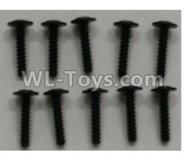 Wltoys 10402 10402.0892 Round head cross with self-tapping screws Parts(10pcs)-ST2.5x12PWB-W6,Wltoys 10402 Parts