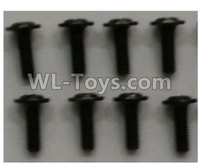 Wltoys 10402 12428.0125 Crosshead head with Media screw(8pcs)-ST3x10PB-D5.5,Wltoys 10402 Parts
