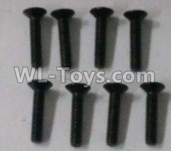 Wltoys 10402 18428.0426 Cross countersunk head screw(8pcs)-2X10KM-D4,Wltoys 10402 Parts