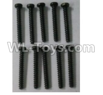 Wltoys 10402 A949-41 Round head self tapping screw(10pcs)-ST 2X16PB-D3.5,Wltoys 10402 Parts