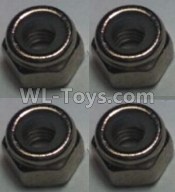 Wltoys 10428-B2 M2.5 Locknut(4pcs),Wltoys 10428-B2 Parts