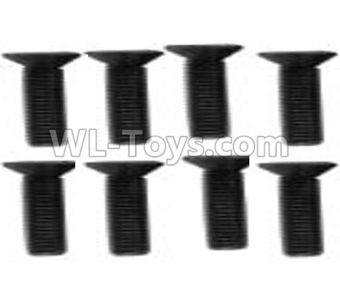 Wltoys 10428-B2 Flat head machine screw -M2.5x8(8pcs)-10428-2.0342,Wltoys 10428-B2 Parts