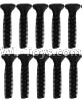 Wltoys 10428-B2 Countersunk head inner hexagon Screws-M2.6X10-Black zinc plated(10PCS)-A929-63,Wltoys 10428-B2 Parts