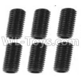 Wltoys 10428-B2 Jimi screws-M3X8-Black zinc plated(6PCS)-A929-85,Wltoys 10428-B2 Parts