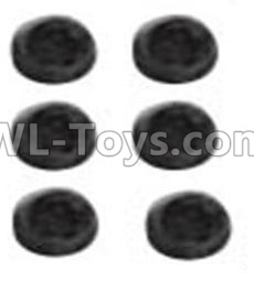 Wltoys 10428-B2 Jimi screws-M3X3-Black zinc plated(6PCS)-A929-91,Wltoys 10428-B2 Parts