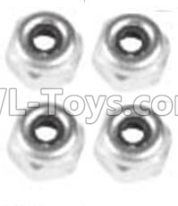 Wltoys 10428-B2 M4 Locknut(4PCS)-A929-94,Wltoys 10428-B2 Parts