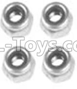 Wltoys 10428-B2 M3 Locknut(4PCS)-A929-95,Wltoys 10428-B2 Parts