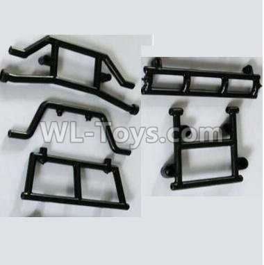 Wltoys 10428-B2 Front and Rear Anti-collision Fixed seat10428-B.0318,Wltoys 10428-B2 Parts